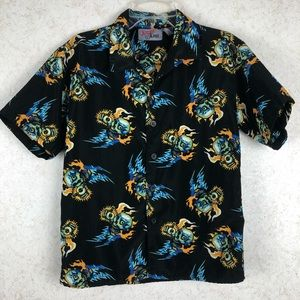 Xtreme Limit Boys skull button up